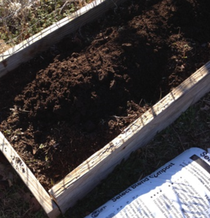 Raised bed kits at NHG