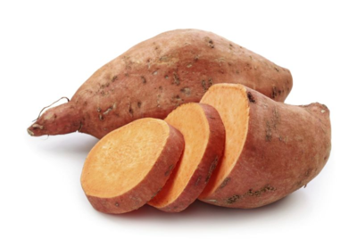 Sweet Potato Sliced